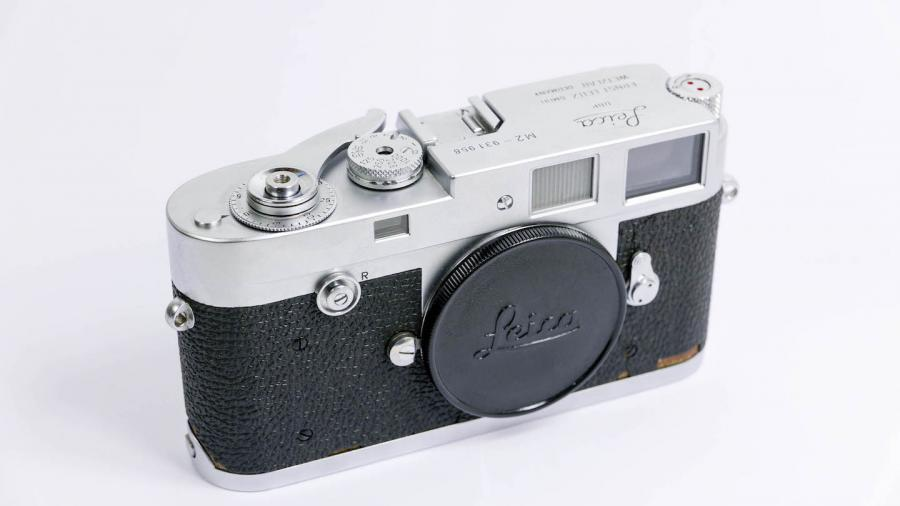 Very Early Leica M2 Button Rewind Camera