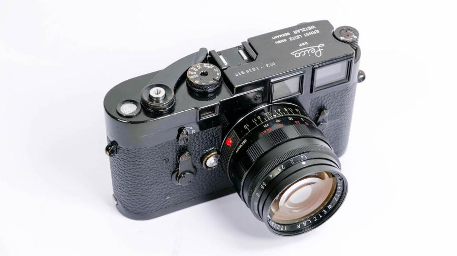 Black Enamel Leica M3 Set