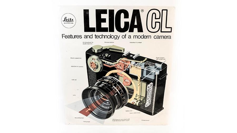 The Leica CL Dealer Sign