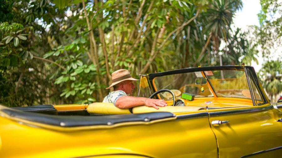 Take a vintage car ride through town - one of the best ways to see Cuba