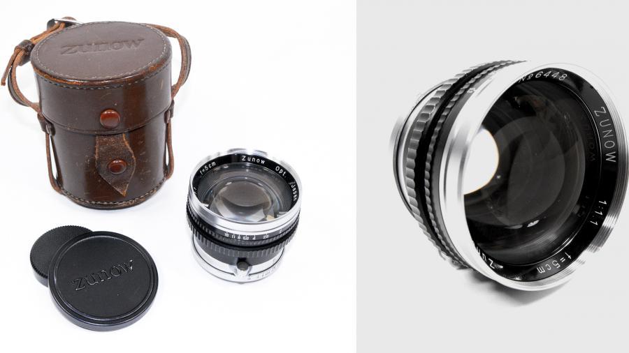 The Zunow 50mm f1,1 lens